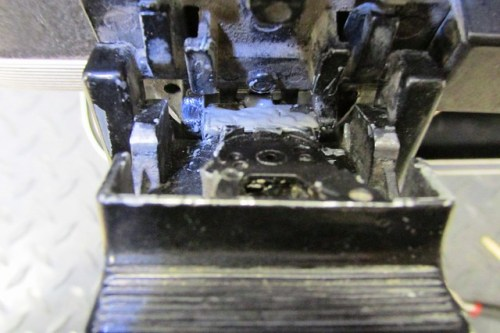 JB Weld Over Top of Metal Plate To Strengthen It, But Not on Hinge Boss