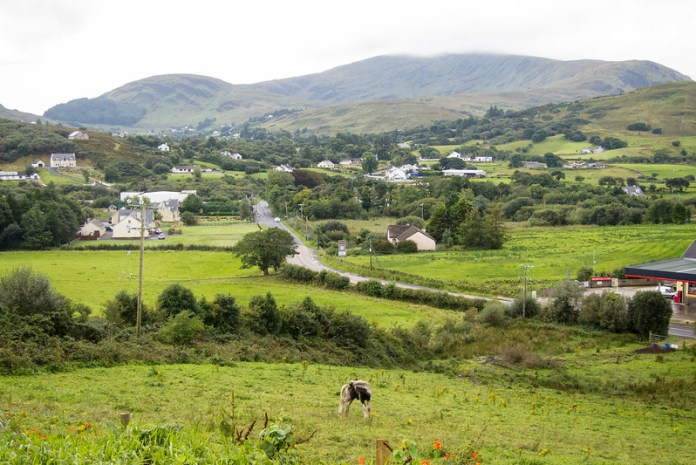 Behind the Church of the Holy Family, Ardara, Ireland