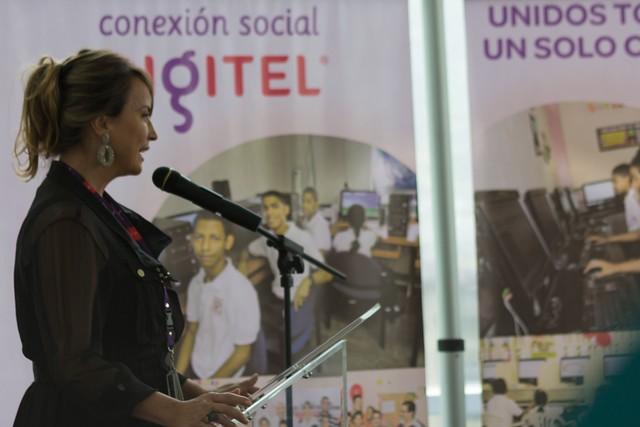 Mireya Blavia de Cisneros Asesora de Responsabilidad Social de Digitel