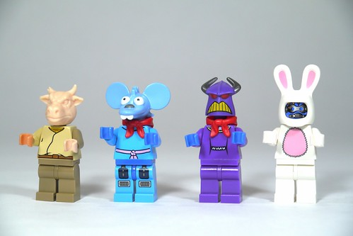 LEGO FNAF Bonnie Toy Bonnie  Springtrap  See how to
