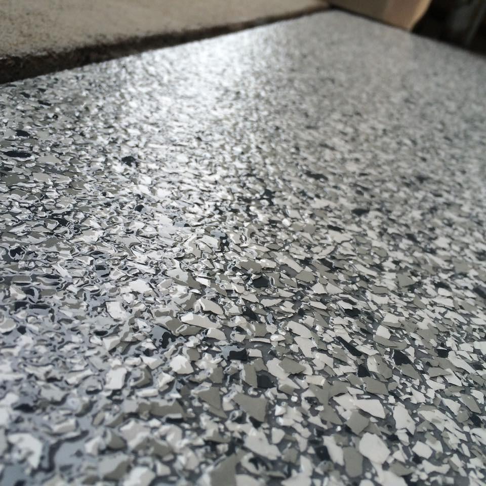 Medium Gray Basecoat Epoxy Flooring Rapid City Sd