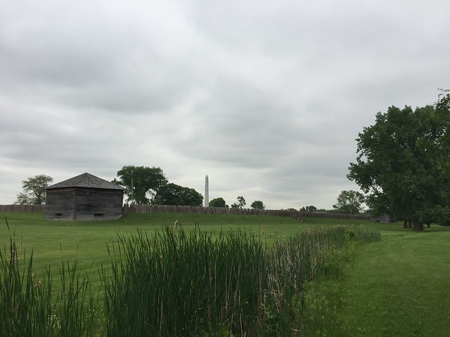 Final leg through Ohio — Fort Meigs