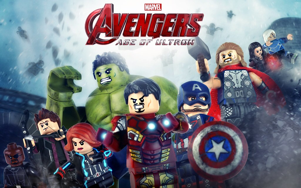 Wallpaper 3d C Ronaldo Avengers Age Of Ultron Upgraded Minifigures Final Previ