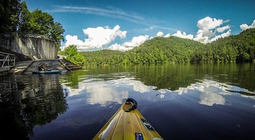 Lake Tugaloo Paddling-2