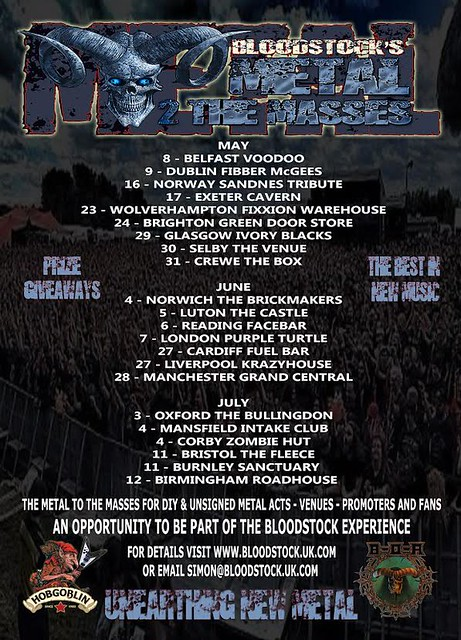 Bloodstock Metal 2 The Masses finals poster