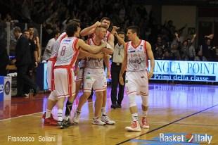 Reggio - Reyer: Rimantas Kaukenas dopo il buzzer beating