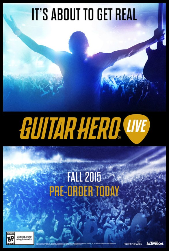 Guitar Hero Live Retail Key Art
