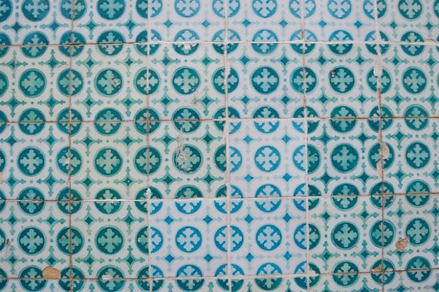 Turquoise azulejos | The Streets of Lisbon | No Apathy Allowed
