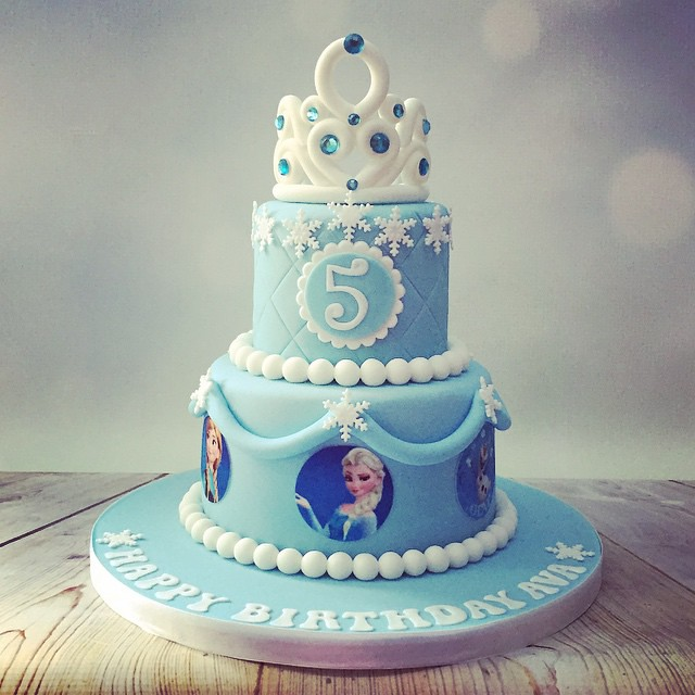 Elsa And Anna Birthday Cake Images The Best Cake Of 2018