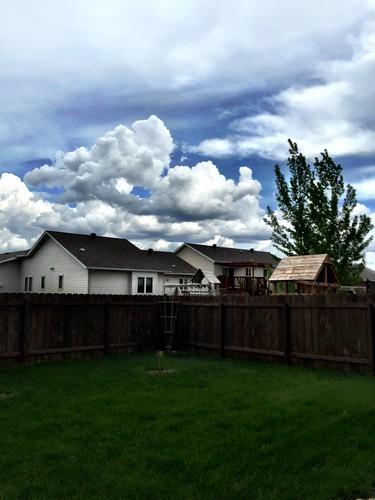 Beautiful clouds!