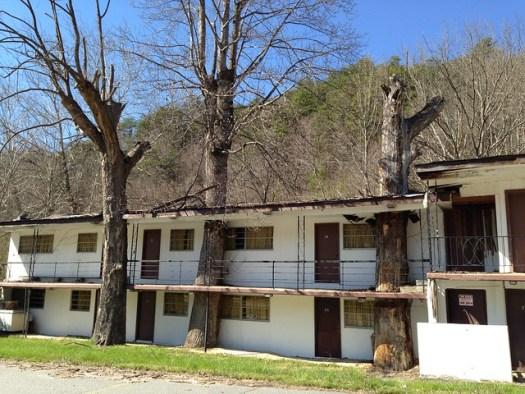 Abandoned Motel, Cherokee NC