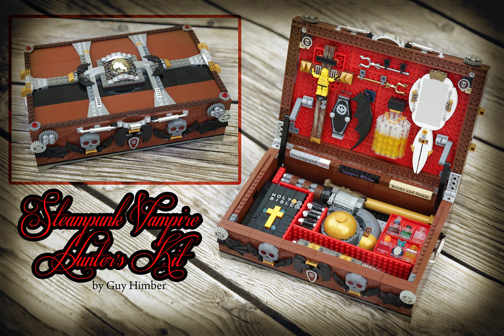 Steampunk Vampire Hunter Kit by Guy Himber  I always wanted  Flickr