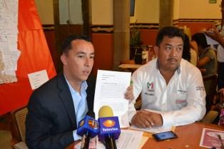 PRI demanda que sea fiscalizado candidato del PRD