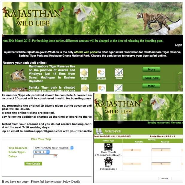 Reserva Safari Rajasthan
