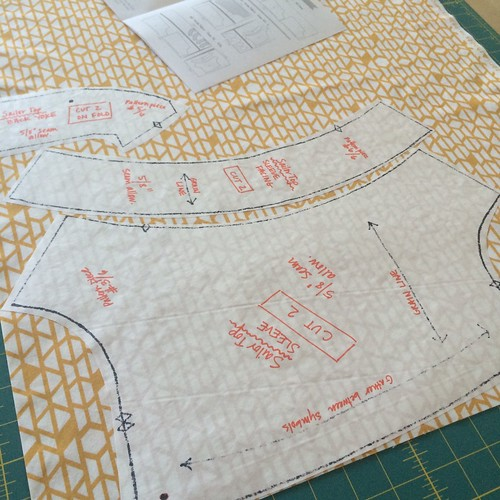 freezer paper pattern ironing