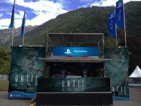 PlayStation Truck - Until Dawn