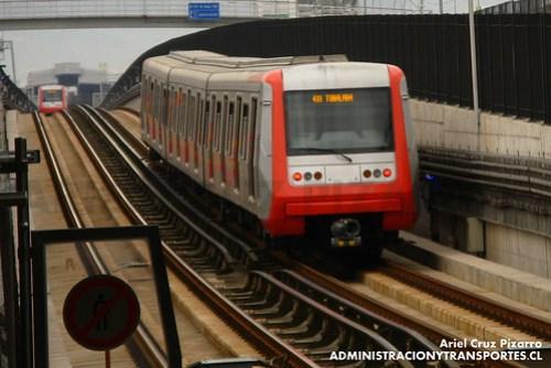 Metro de Santiago - Alstom AS2002 - Los Presidentes / Quilín