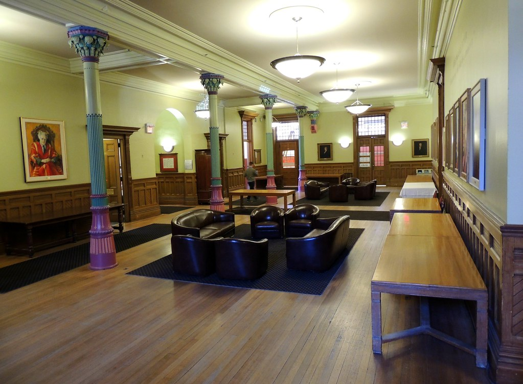 Victoria College University Of Toronto First Floor Flickr