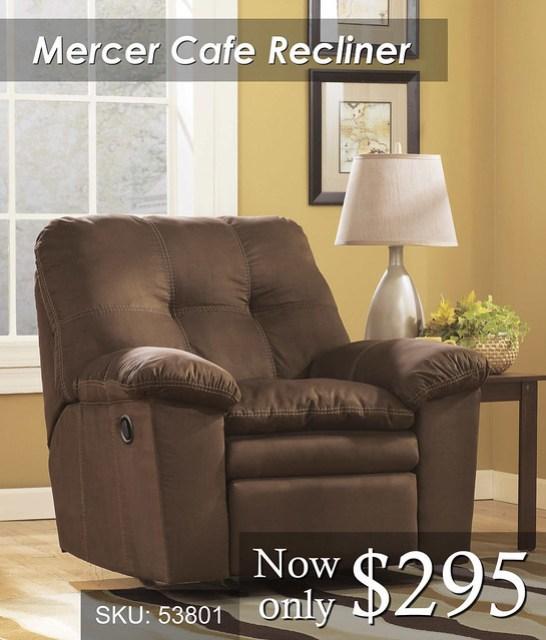 Mercer Cafe recliner