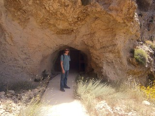 Entrance To Tunnel Towards Kadisha
