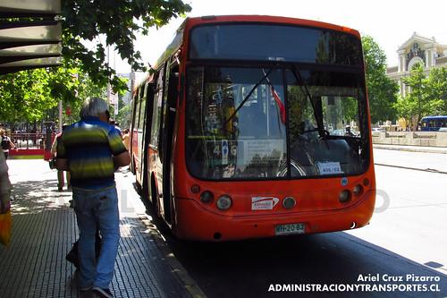 Transantiago - Express de Santiago Uno - Metalpar Tronador / Mercedes Benz (WH2083)