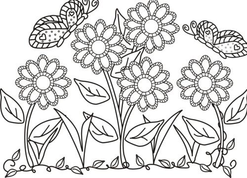 bed pattern coloring pages - photo#7