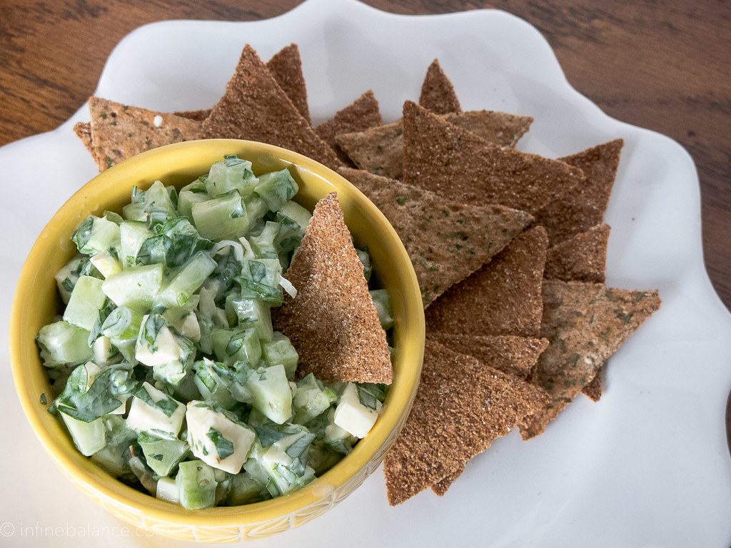 Cucumber and Feta Salad | infinebalance.com