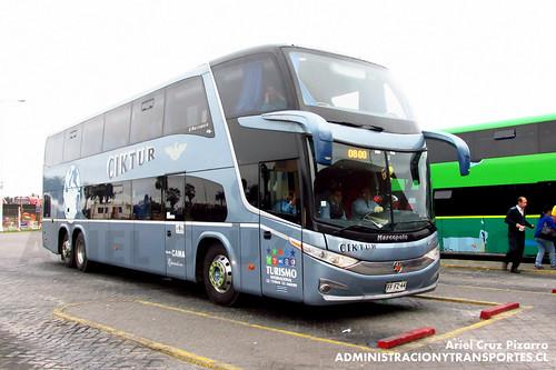 Ciktur - La Serena - Marcopolo Paradiso 1800 DD / Volvo (FFFZ44)