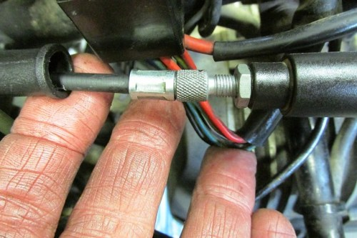 Adjusting  Slack in Handlebar Cable
