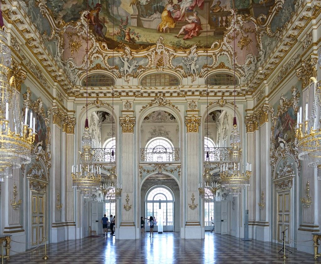 Le grand salon du chteau de Nymphembourg Munich  Flickr