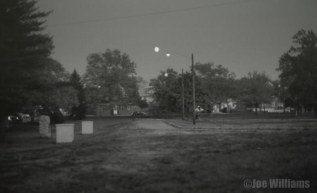 Westville, New Jersey Pond at Night