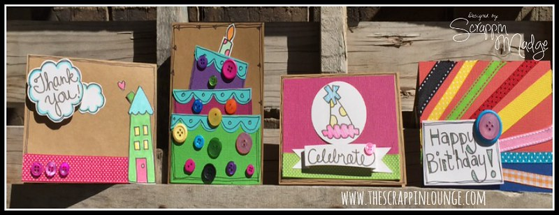 Laura Kelly Card Kit Finished Cards