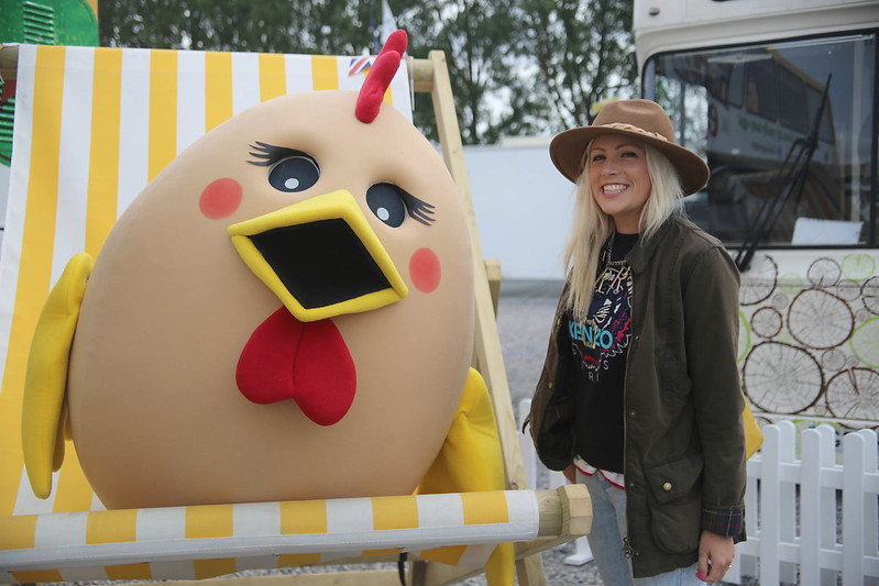 Happy Egg at the Royal Bath and West Show