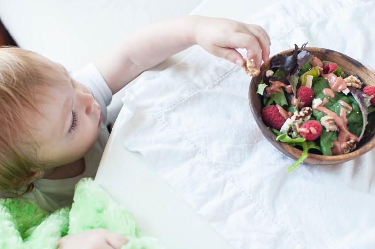 Raspberry Feta Salad
