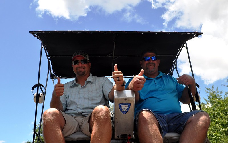 Boggy Creek Airboat Tours arranged for a special tour of Lake Apopka on May 31, 2015.