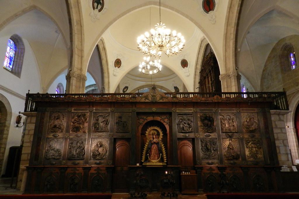Retablo en bronce Iglesia Colegiata Santa Maria de la Encarnación La Mayor Ronda Málaga 09