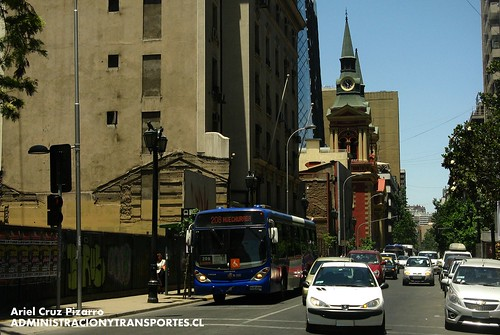 Transantiago - Subus Chile - Marcopolo Gran Viale / Volvo (BJFJ49)
