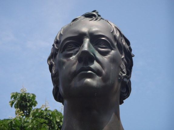Image result for statue of hegel