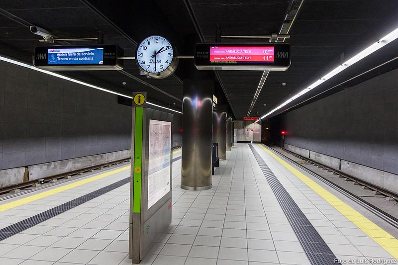 Visita al Metro de Málaga-2