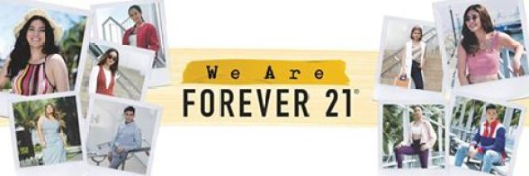 #WeAreForever21 Campaign New Faces