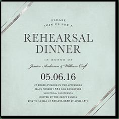 rehearsal dinner invitations rehearsal