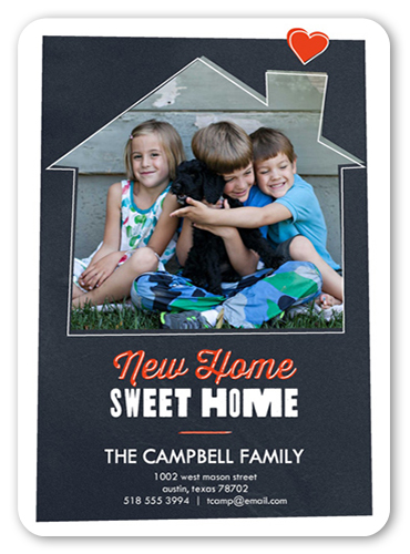 Sweet Heart Home 5x7 Moving Announcements Shutterfly