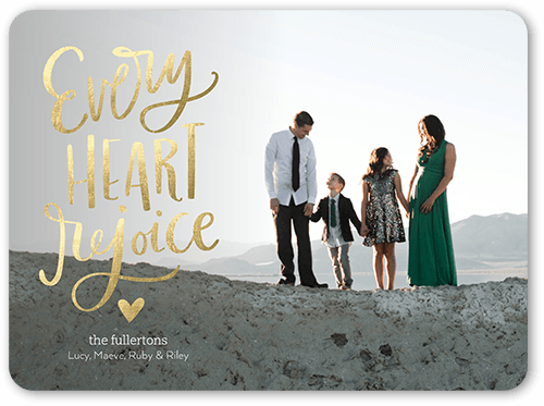 Every Heart 6x8 Stationery Card By Stacy Claire Boyd