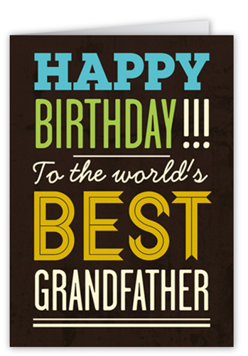 Best Grandpa Birthday Greeting Cards Shutterfly