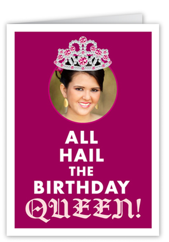 Birthday Queen Birthday Greeting Cards Shutterfly