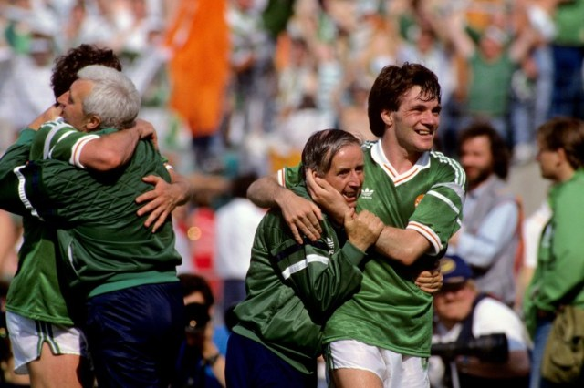 Image result for ireland euro 88