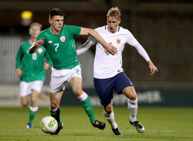 Image result for declan rice ireland u21s