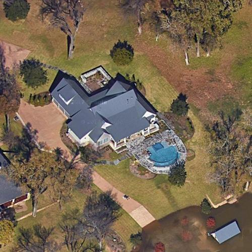 Art Briles House former in Waco TX Google Maps
