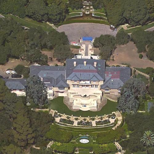 Oprah Winfreys House in Montecito CA Google Maps