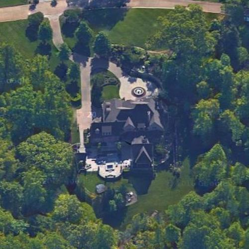 Butch Jones House In Knoxville TN Google Maps